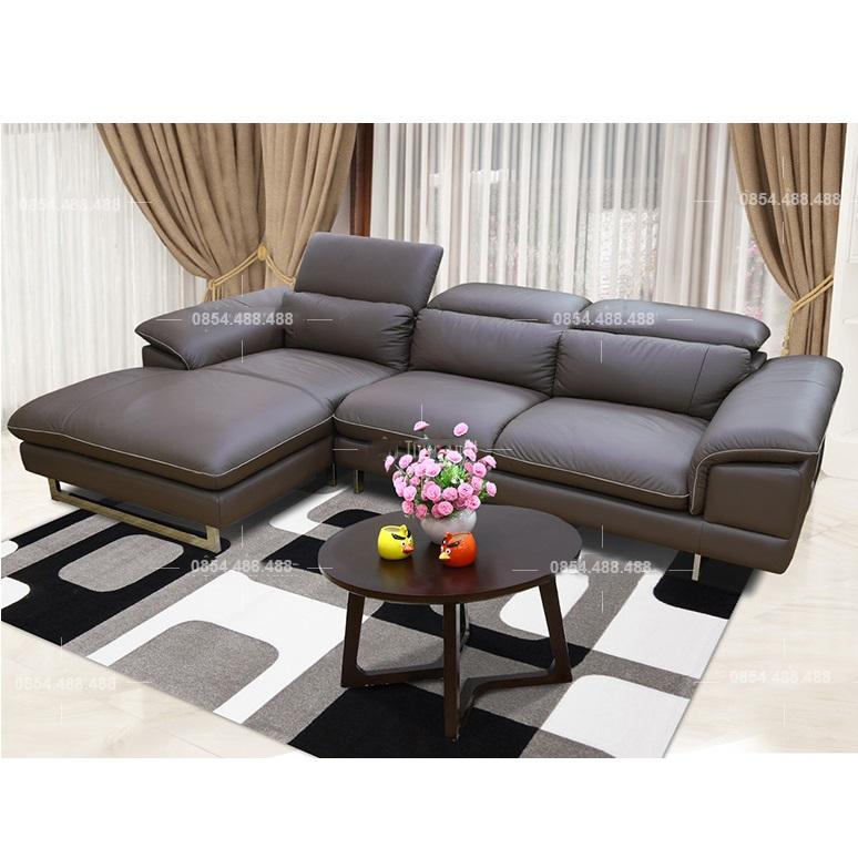 Ghế sofa da bò thật 100% G38