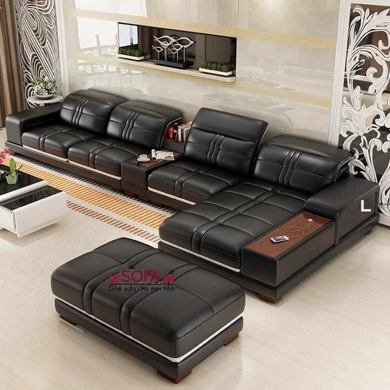 Ghế sofa da cao cấp L47