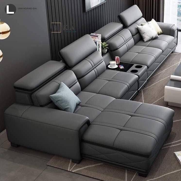 ghế Sofa da cao cấp L61