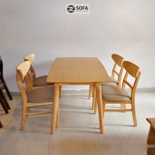 Bàn ăn Zsofa ZA-18 4 ghế hoặc 6 ghế