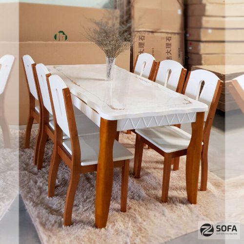 Bàn ghế ăn mặt đá ZA-170