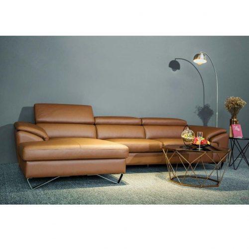 Sofa da bò cao cấp ZDA012